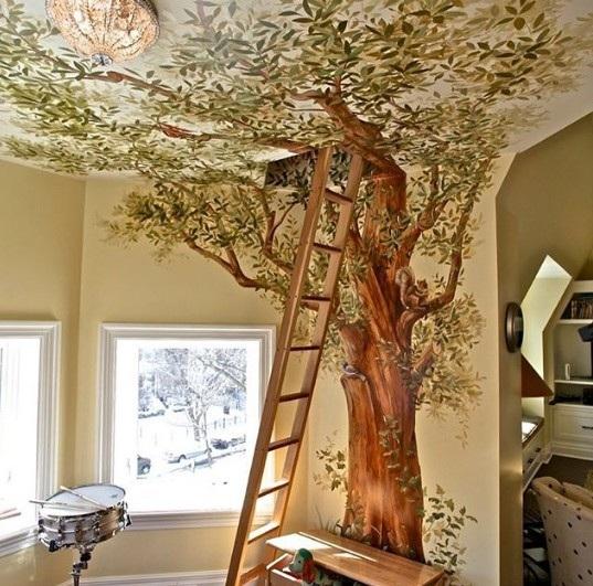 Một gợi ý tuyệt vời cho các gia đình đang muốn trang trí phòng của trẻ trở nên thật sống động mà lại không đòi hỏi quá nhiều chi phí.