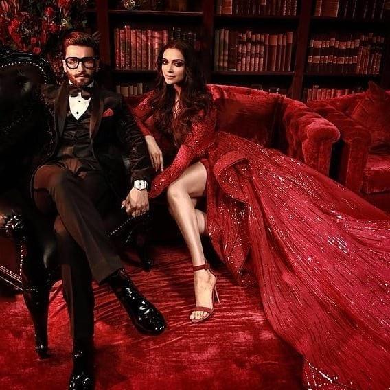 Cặp sao Bollywood Deepika Padukone và Ranveer Singh tổ chức tiệc mừng đám cưới tại khách sạn Grand Hyatt ở Mumbai ngày 1/12 vừa qua