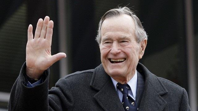 Cựu Tổng thống George H.W. Bush (Ảnh: AP)