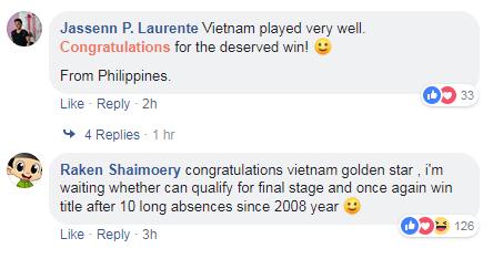 CĐV Philippines nể phục chiến thắng của đội tuyển Việt Nam - 4
