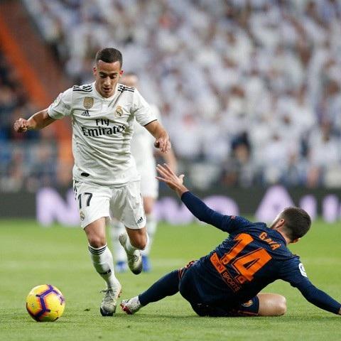 Vazquez ấn định chiến thắng 2-0 chung cuộc cho Real Madrid