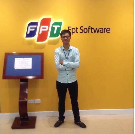 Vinh ứng tuyển thành công vào FPT Fsoftware
