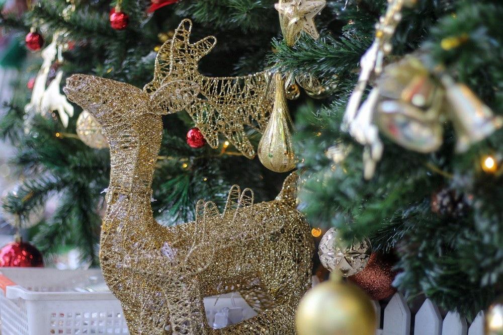 Người Hà Nội chen chân mua sắm trên phố Hàng Mã trước lễ Giáng sinh - Ảnh 6.