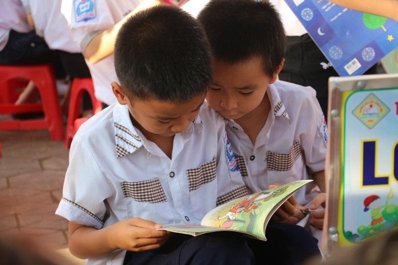 Học sinh, phụ huynh háo hức với Ngày hội đọc sách - Ảnh 5.