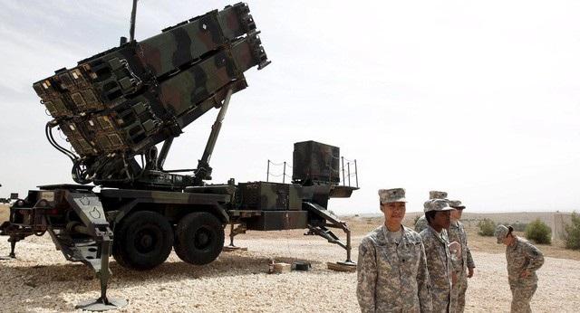Tổ hợp phòng không Patriot của Mỹ (Ảnh: Reuters)