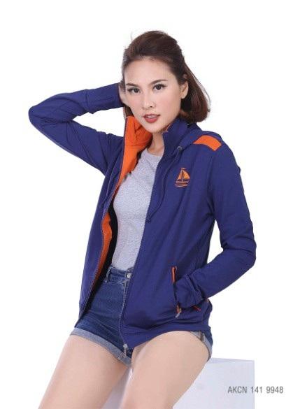 Trẻ trung, hiện đại và an toàn tuyệt đối cùng mẫu áo khoác cao cấp chống tia UV đến 99% - AKCN 141 9948