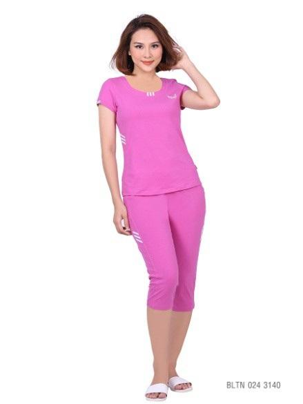Chất liệu cotton cao cấp co giãn, thấm hút tốt dành cho các bạn gái yêu thích sự thoải mái – BLTN 024 3140