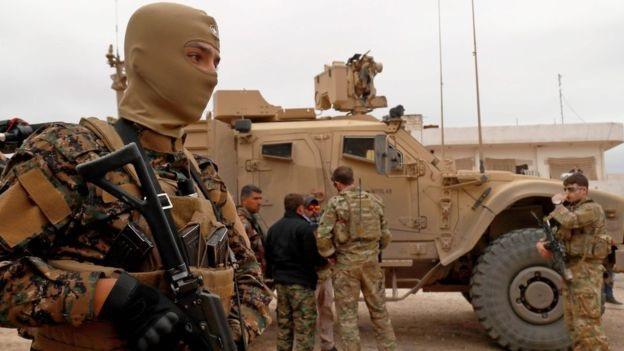 Quân nhân Mỹ tại Syria (Ảnh: AFP)