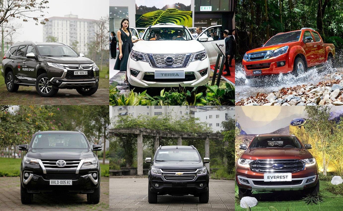 Cuộc chiến căng thẳng trên thị trường SUV 7 chỗ tại Việt Nam - Ảnh 1.