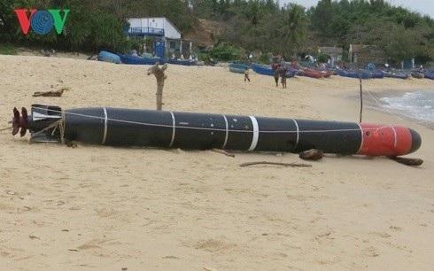 Ngư lôi phát hiện ở Phú Yên là ngư lôi bắn tập của Trung Quốc - Ảnh 1.