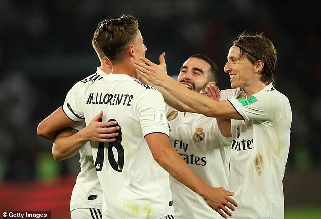 Real Madrid lần thứ ba liên tiếp vô địch FIFA Club World Cup - Ảnh 4.