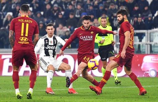 C.Ronaldo mờ nhạt, Juventus vẫn tạo nên kỷ lục sau chiến thắng AS Roma - Ảnh 2.