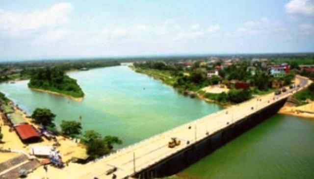 Xây dựng đập ngăn mặn 500 tỷ đồng trên sông Hiếu - Ảnh 1.