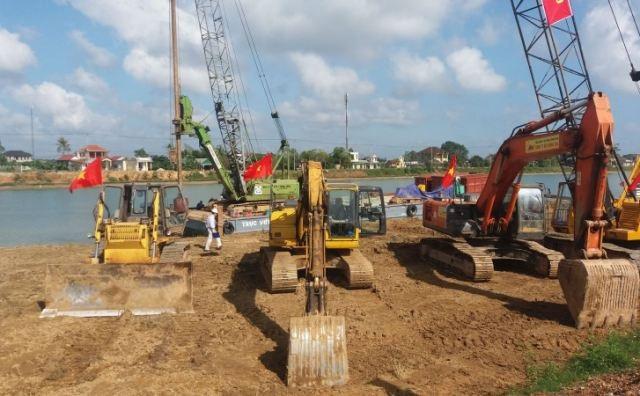 Xây dựng đập ngăn mặn 500 tỷ đồng trên sông Hiếu - Ảnh 3.