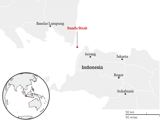 Sóng thần tấn công Indonesia, ít nhất 62 người chết - Ảnh 4.