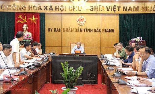 Chủ tịch tỉnh Bắc Giang chỉ đạo quyết liệt chống tham nhũng và xử lý sai phạm! - Ảnh 1.