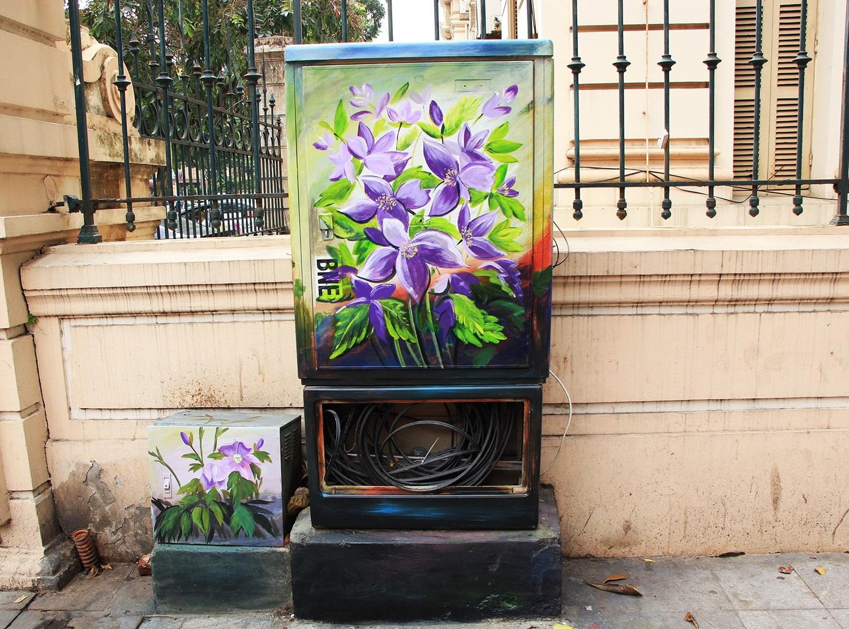 """Những tủ điện """"nở hoa"""" ở Hà Nội - Ảnh 7."""