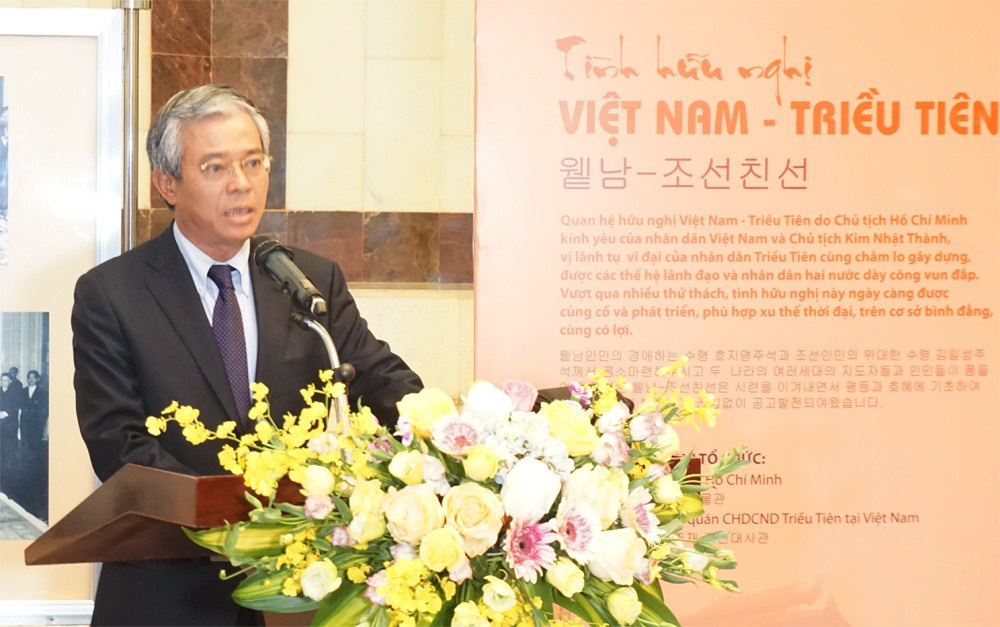Triển lãm ảnh kỷ niệm 60 năm Chủ tịch Triều Tiên thăm Việt Nam - Ảnh 5.