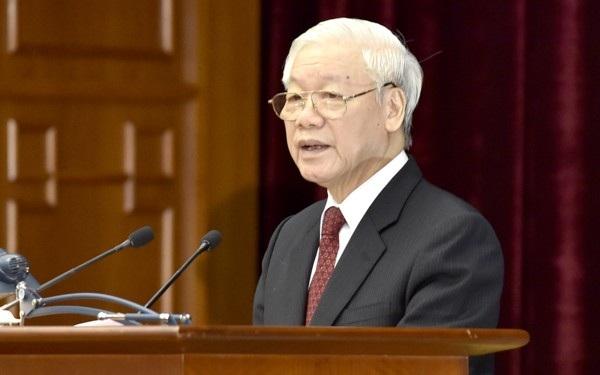 Tổng Bí thư nói về việc kỷ luật Phó Bí thư TPHCM Tất Thành Cang - Ảnh 1.