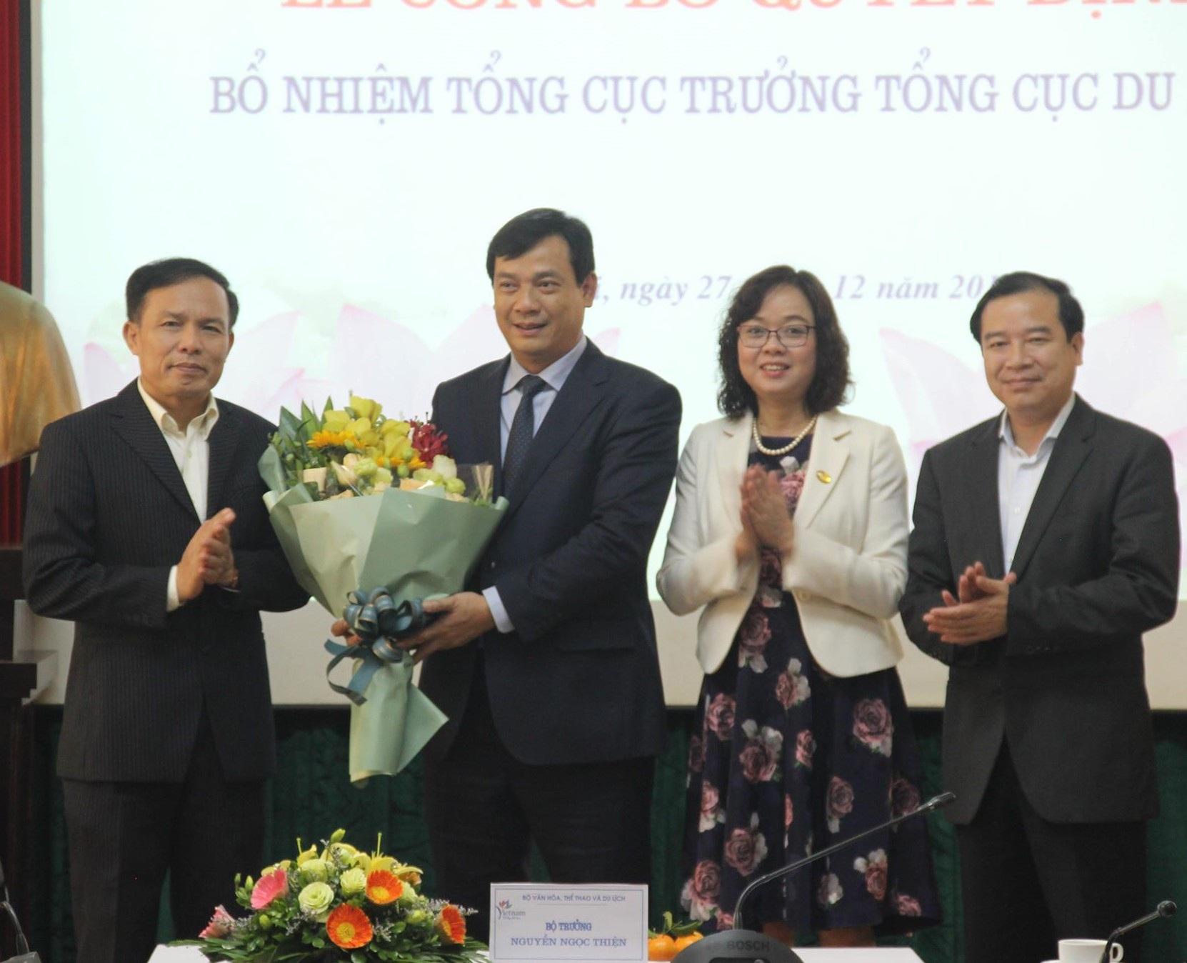 Bộ VHTT&DL bổ nhiệm Tổng cục trưởng Tổng cục Du lịch - Ảnh 1.