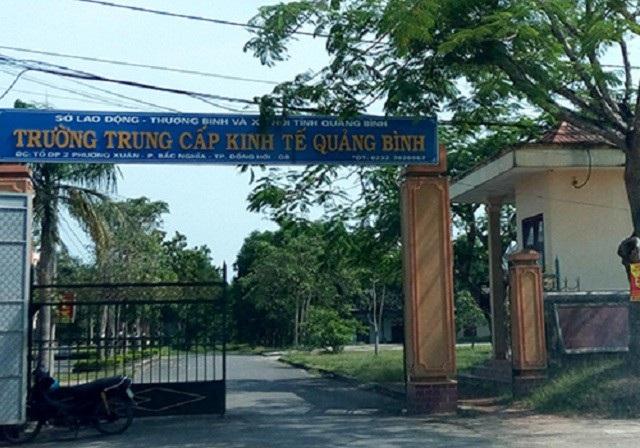Phát hiện hàng loạt sai phạm tại một trường trung cấp ở Quảng Bình - Ảnh 1.