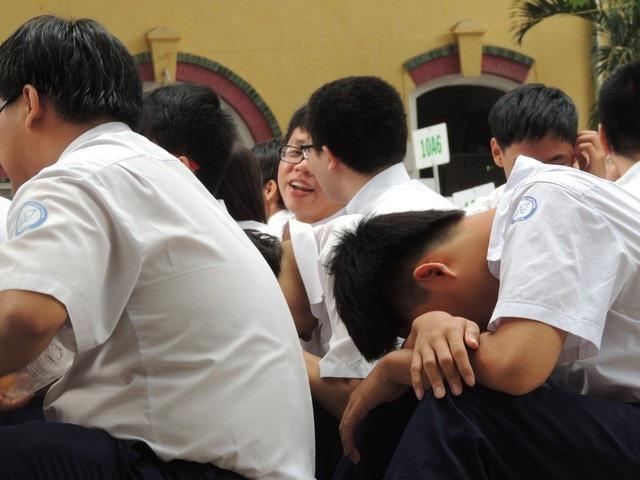 Gần 1/3 học sinh ở TPHCM bị căng thẳng, stress - Ảnh 1.