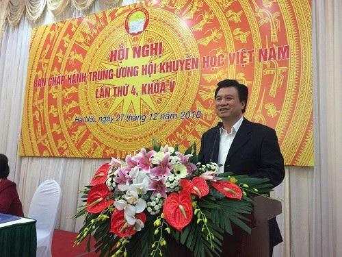 Thứ trưởng Nguyễn Hữu Độ làm Phó Chủ tịch Hội Khuyến học Việt Nam - Ảnh 3.