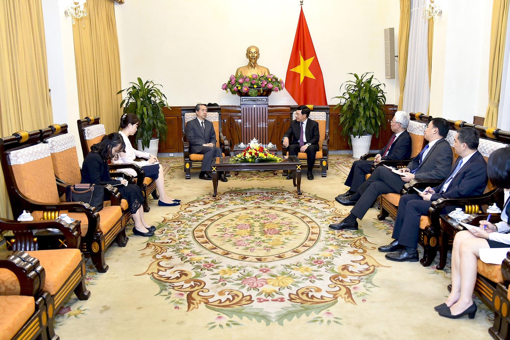 Phó Thủ tướng Phạm Bình Minh tiếp tân Đại sứ Trung Quốc tại Việt Nam - Ảnh 2.