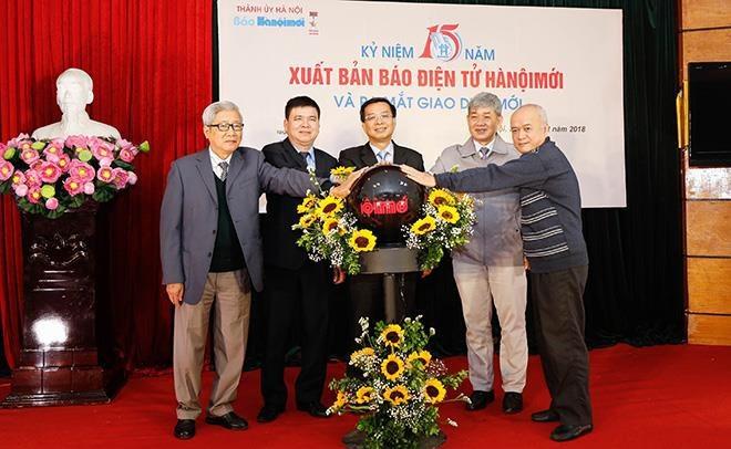 Báo Hà Nội Mới điện tử kỷ niệm 15 năm thành lập - Ảnh 1.
