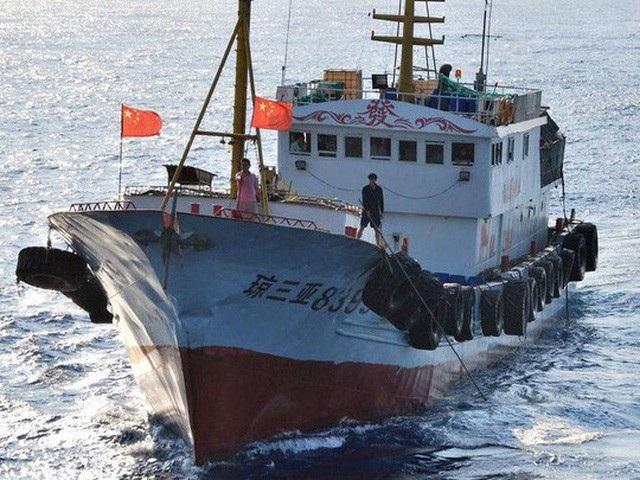 """Tokyo """"tố"""" tàu cá Trung Quốc xâm phạm vùng biển, bỏ chạy cùng 10 thanh tra Nhật Bản - Ảnh 1."""