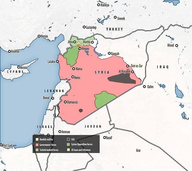 Khí tài Thổ Nhĩ Kỳ ùn ùn đổ về biên giới Syria, Nga cảnh báo - Ảnh 2.