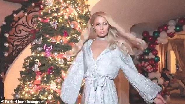 Paris Hilton sành điệu ra phố mua sắm - Ảnh 8.