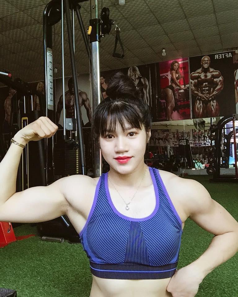 """9x Đồng Nai xinh đẹp sở hữu thân hình lực sĩ gây """"sốt"""" mạng - Ảnh 1."""