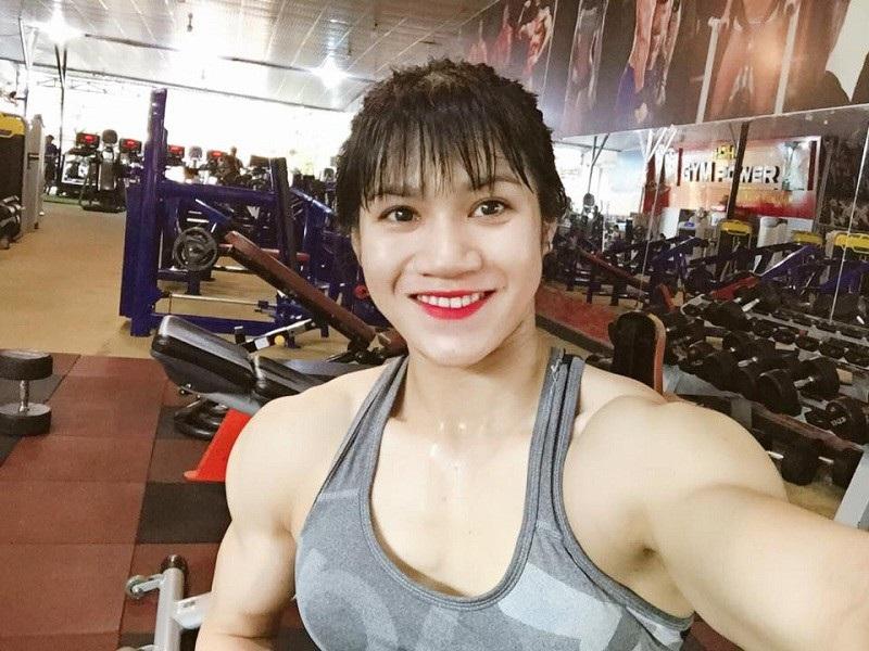 """9x Đồng Nai xinh đẹp sở hữu thân hình lực sĩ gây """"sốt"""" mạng - Ảnh 2."""