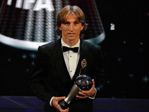 Luka Modric sẽ tiếp tục được vinh danh?