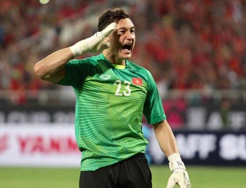 Thủ môn Văn Lâm là chốt chặn tin cậy của đội tuyển Việt Nam