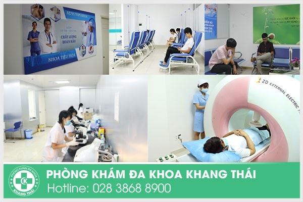 Phòng Khám Khang Thái khám chữa bệnh cả trong và ngoài giờ hành chính