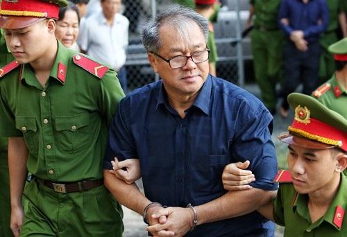 Bị cáo Phạm Công Danh trong 1 lần xét xử