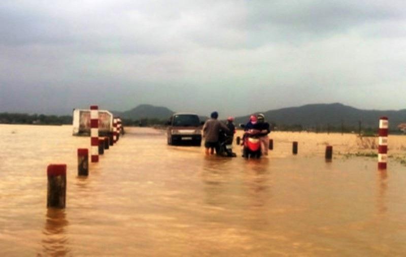 """Ngập lụt, nông dân """"mất"""" Tết Dương lịch ra đồng cứu… lúa - Ảnh 6."""