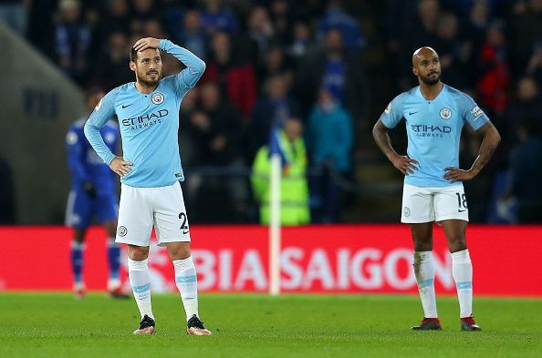 Phong độ thi đấu của Man City đầy thất thường