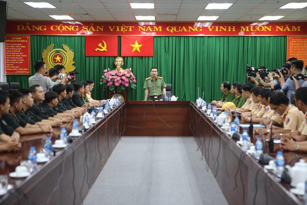 Công an TPHCM lập tổ công tác trấn áp tội phạm như 141 ở Hà Nội - Ảnh 1.