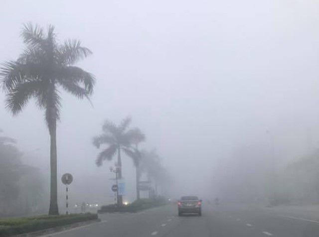 Kinh nghiệm lái xe đường sương mù - 1