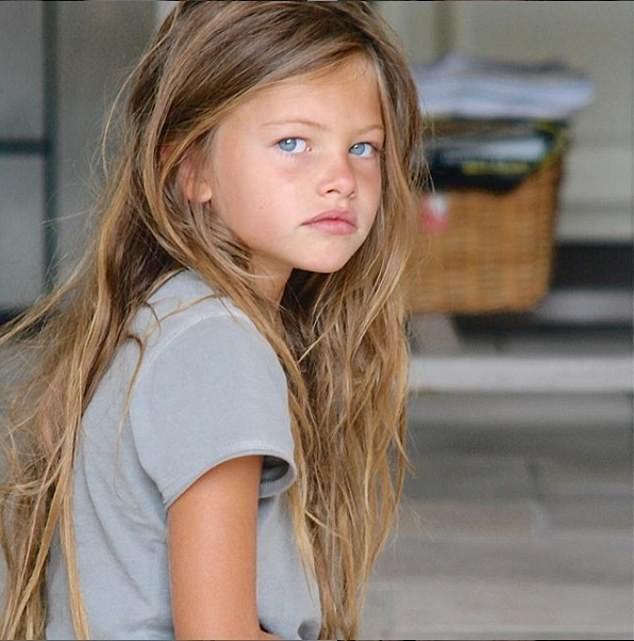 Thylane Blondea trở nên nổi tiếng vào năm 2007 lúc mới 6 tuổi - lúc đó cô được mệnh danh là cô bé đẹp nhất thế giới