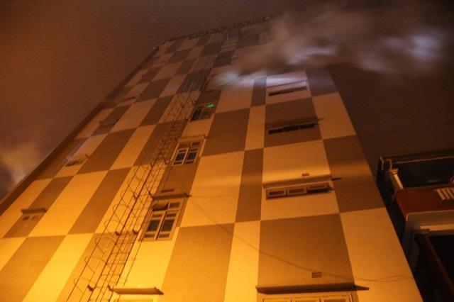 Cháy quán karaoke 9 tầng lớn nhất Quảng Trị - Ảnh 1.