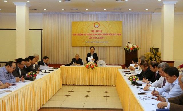 Hội nghị Ban Thường vụ Trung ương Hội Khuyến học Việt Nam lần thứ 6 (khóa V) ngày 26/12/2018.