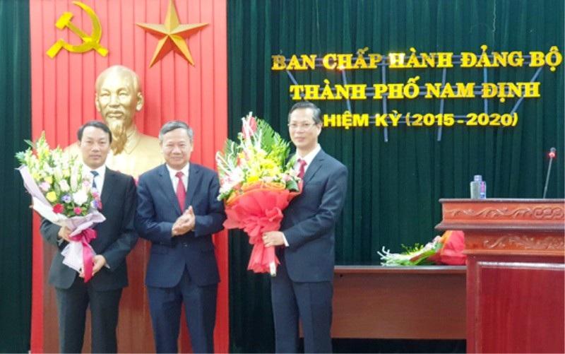 Trưởng Ban dân vận tỉnh được điều động làm Bi thư Thành ủy TP Nam Định - Ảnh 1.