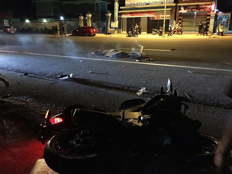 Đuổi theo 3km chặn xe container gây tai nạn chết người - Ảnh 1.