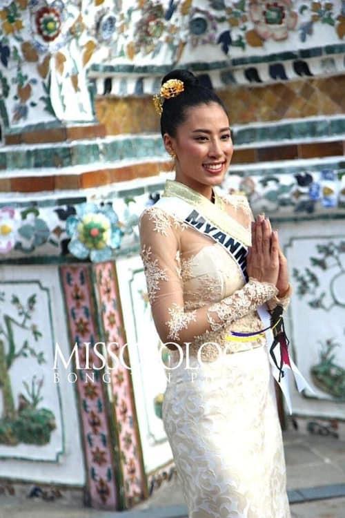 Mỹ nhân hoa hậu hoàn vũ 2018 hội tụ tại Thái Lan - 15