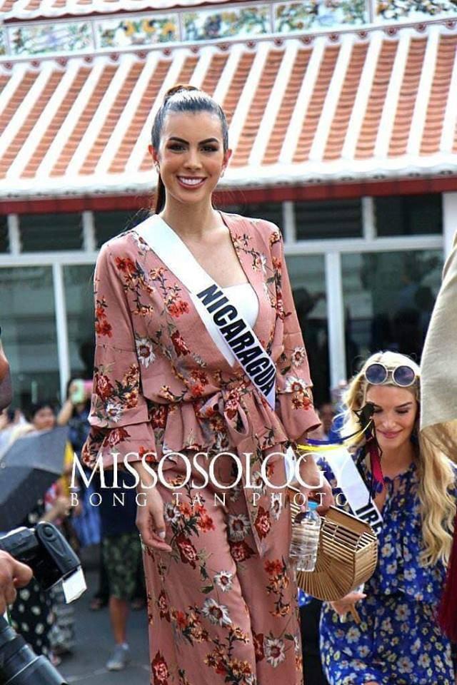 Mỹ nhân hoa hậu hoàn vũ 2018 hội tụ tại Thái Lan - 12