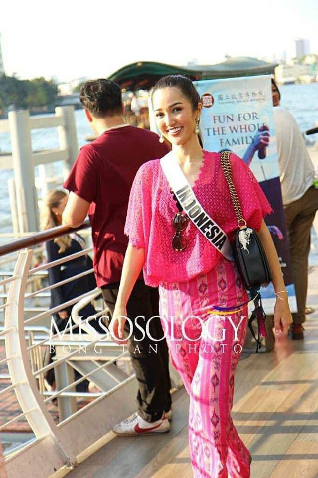 Mỹ nhân hoa hậu hoàn vũ 2018 hội tụ tại Thái Lan - 10